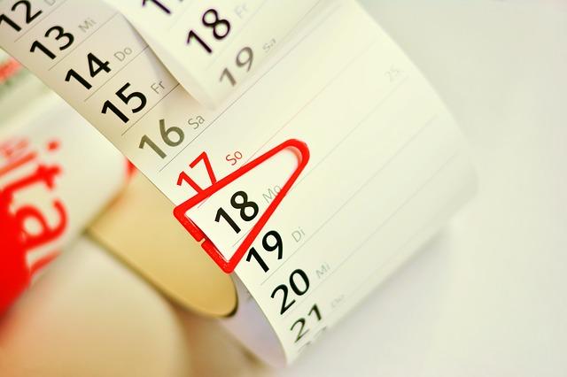 schedule a date